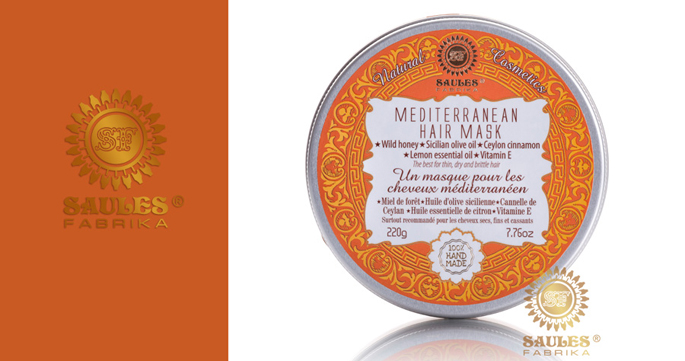 Средиземноморская маска для волос